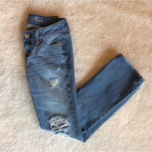 AE distressed jeans - 00 SHORT
